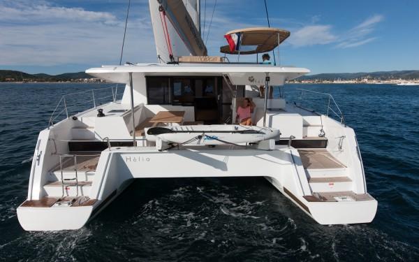location catamaran corse helia 44